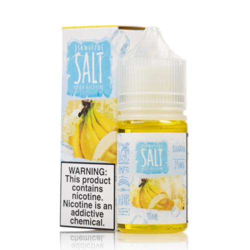 Жидкость на солевом Skwezed Salt - Banana Ice 30 мл.