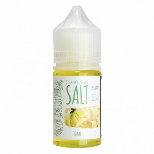 Жидкость на солевом Skwezed Salt - Banana 30 мл.