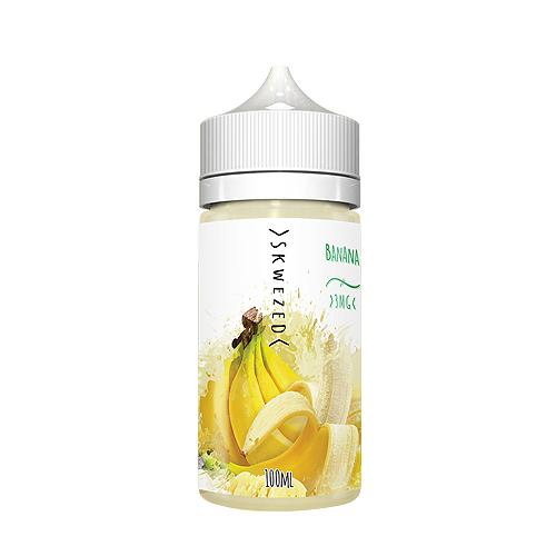 Премиум жидкость Skwezed - Banana 100 мл. 3 мг.