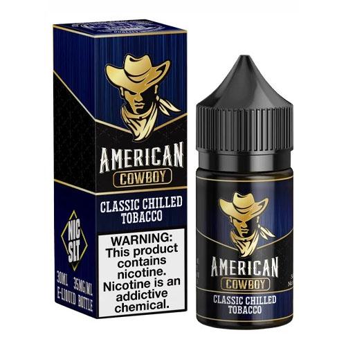 Жидкость на солевом никотине Juice Man Salt - American Cowboy 30 мл.