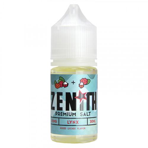 Жидкость на солевом никотине Zenith Salt - Lynx 30 мл.