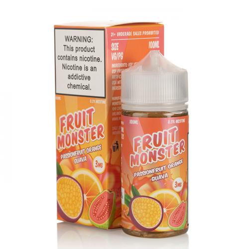 Премиум жидкость Fruit Monster - Passion Fruit Orange Guava 100 мл.