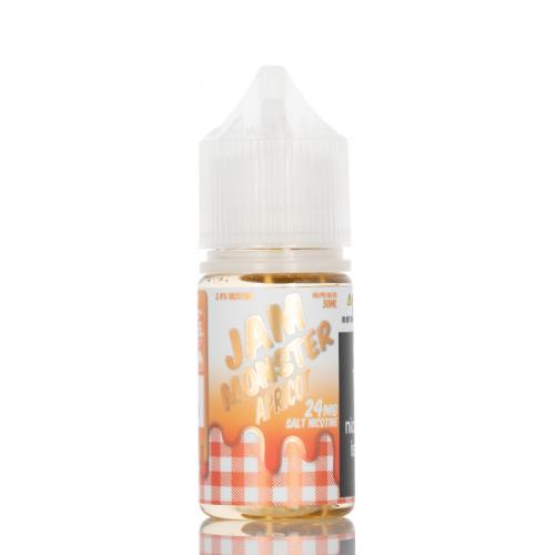 Жидкость на солевом никотине Jam Monster Salt - Apricot 30 мл.