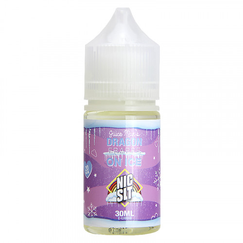 Жидкость на солевом никотине Juice Man - Dragon Frappe ICE Salt 30 мл. 35 мг.