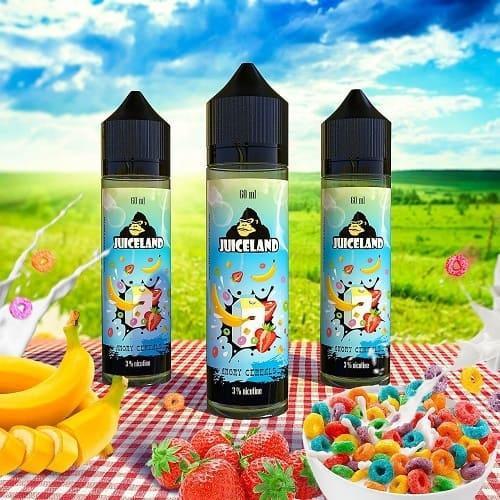 Жидкость Juiceland - Angry Cereals 60мл.