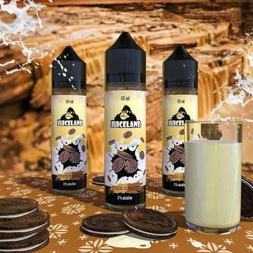 Жидкость Juiceland - Choco Cookies 60мл.