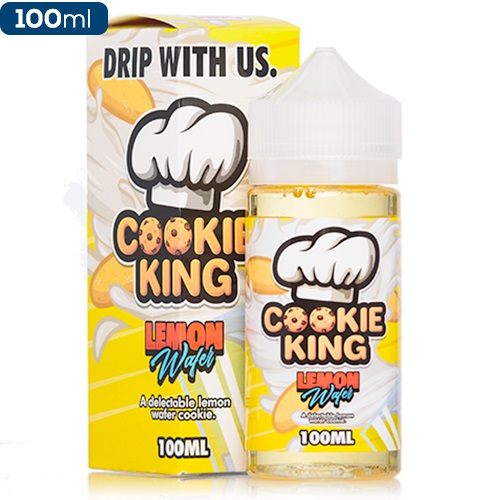 Жидкость Cookie King - Lemon Wafer 100 мл.