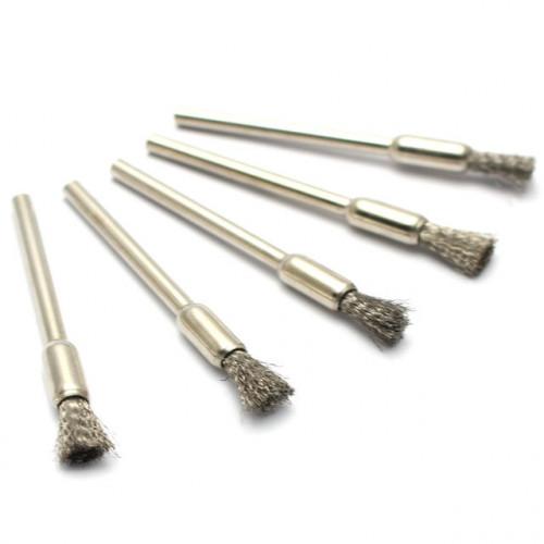 Металлическая щётка для чистки спиралей