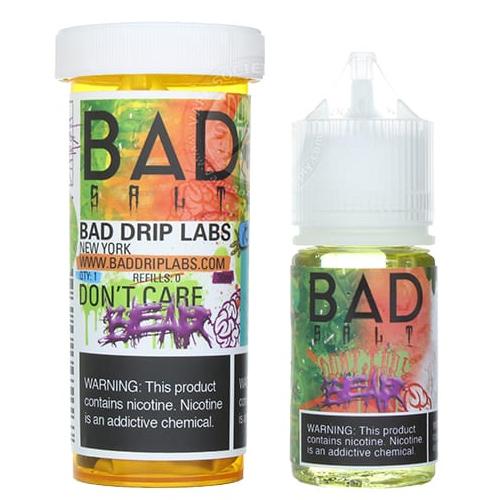 Жидкость на солевом никотине Bad Salt - Don't Care Bear by Bad Drip 30 мл.