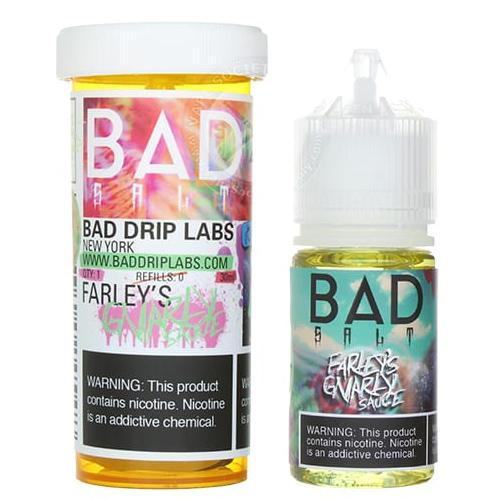 Жидкость Bad Salt - Farley's Gnarly Sauce by Bad Drip 30 мл.