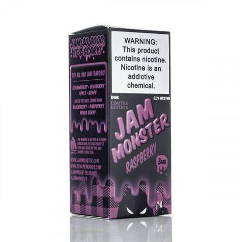 Премиум жидкость Jam Monster - Raspberry Limited Edition 100 мл.