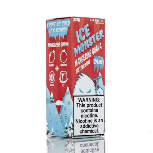 Премиум жидкость ICE Monster Salts - Mangerine Guava 30 мл. 24 мг.