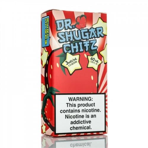 Премиум жидкость Dr. Shugar Chitz - The Strawbert! 60 мл. 3 мг.