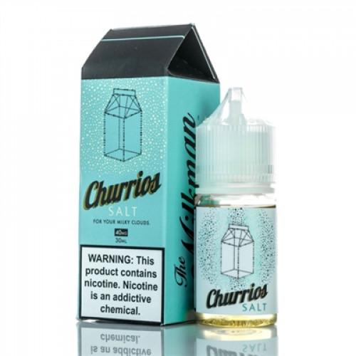 Жидкость на солевом никотине The Milkman Salt - Churrios 30 мл. 40 мг.