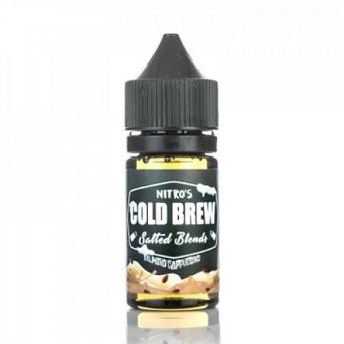 Жидкость на солевом никотине Nitro's Cold Brew Salt - Almond Cappuccino 30 мл.