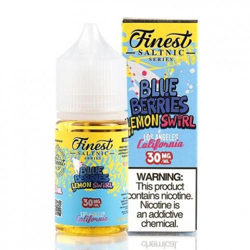 Жидкость на солевом никотине The Finest Salt - Blue-Berries Lemon Swirl 30 мл.