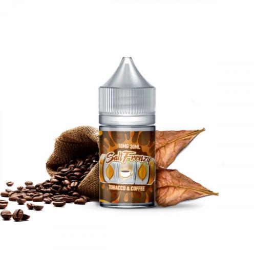 Жидкость на солевом никотине SALT Frenzy – Tobacco & Coffee 30 мл.
