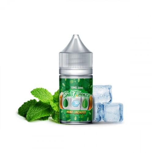 Жидкость на солевом никотине SALT Frenzy – Mint Jackpot 30 мл.