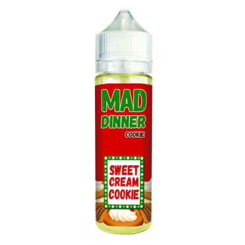 Жидкость для электронных сигарет Mad Dinner - Cookie 60 мл.