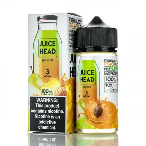 Премиум жидкость Juice Head - Peach Pear 100 мл.