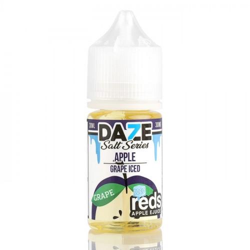 Жидкость на соли 7 Daze SALT - Reds Grape Iced 30 мл. 50 мг.