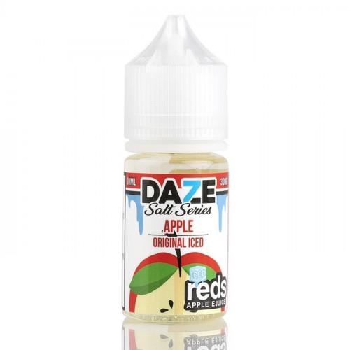 Жидкость на солевом 7 Daze SALT - Reds Apple 30 мл. 50 мг.