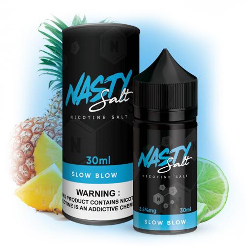 Жидкость на солевом Nasty Juice Salt - Slow Blow 30 мл.