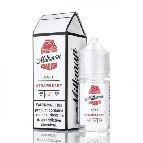 Жидкость на солевом никотине The Milkman Salt - Strawberry 30 мл.