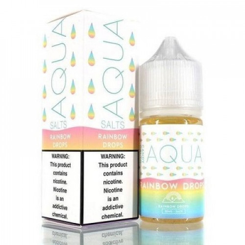 Жидкость на солевом никотине Aqua Salts - Rainbow Drops 30 мл.