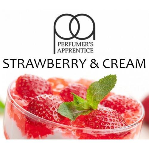 Ароматизатор TPA Strawberries and Cream (Клубника со сливками)