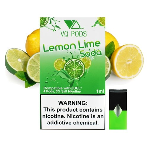 Картриджи для JUUL - VQ Pods - Lemon Lime Soda 4 шт.