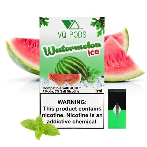 Картридж для JUUL Pods - VQ Pods - Watermelon Ice 5% (50 мг.)  4 шт.