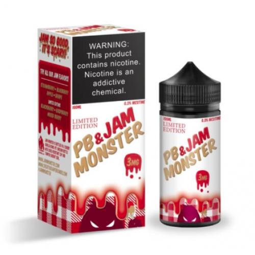 Премиум жидкость Jam Monster - PB Strawberry 100 мл. 3 мг.