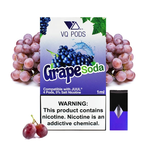 Pods для JUUL VQ Pods - Grape Soda 5%