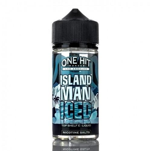 Премиум жидкость One Hit Wonder - Island Man ICED 100 мл.