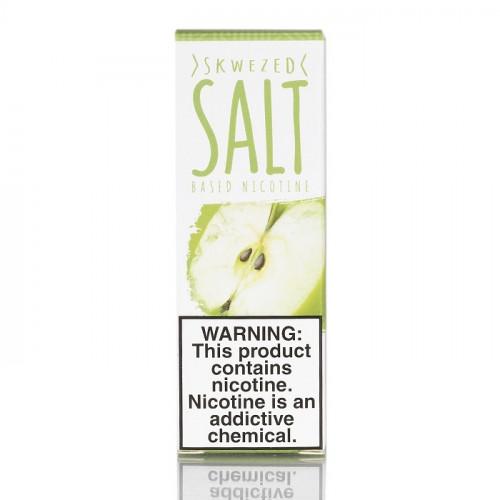 Жидкость на солевом никотине Skwezed Salt - Green Apple 30 мл.