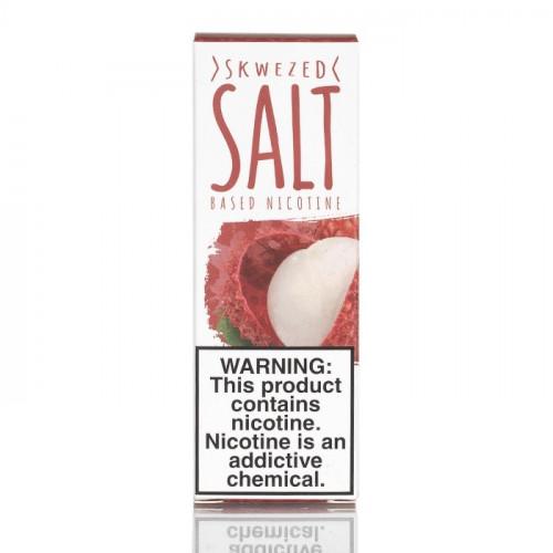 Жидкость на солевом Skwezed Salt - Lychee 30 мл.