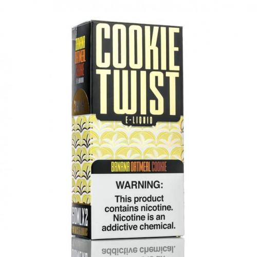 Премиум жидкость Cookie Twist - Banana Oatmeal Cookie 60 мл.