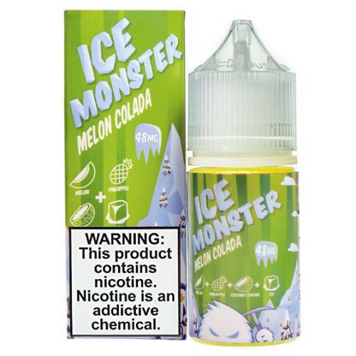 Жидкость на солевом никотине ICE Monster Salts - Melon Colada 30 мл.