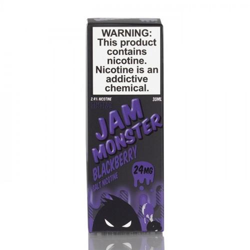 Жидкость на солевом никотине Jam Monster - Blackberry Salt 30 мл.