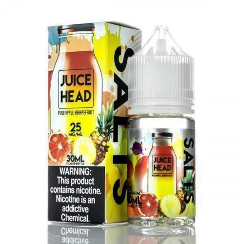 Жидкость на солевом никотине Juice Head Salt - Pineapple Grapefruit 30 мл.