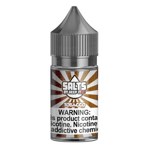Жидкость на солевом никотине Keep It 100 Salts - Tobacco 30 мл. 40 мг.