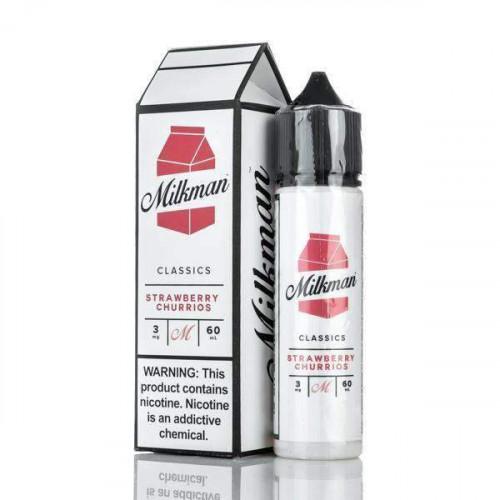 Премиум жидкость The Milkman - Strawberry Churrios 60 мл.