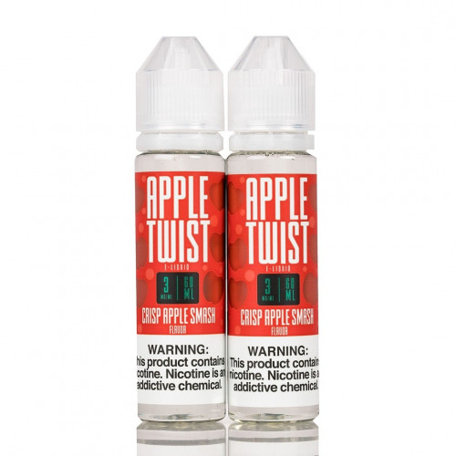 Премиум жидкость Apple Twist - Crisp Apple Smash 60 мл.