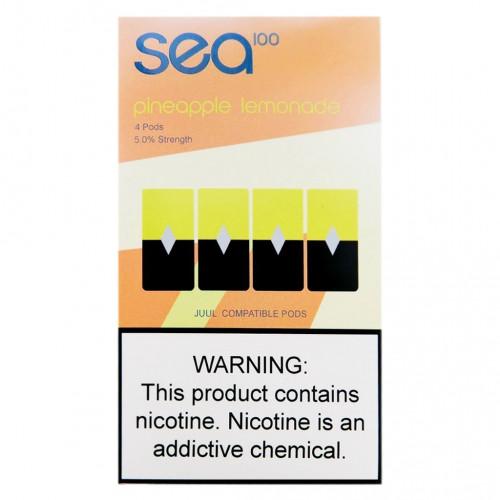 Картриджи Sea100 Pods - Pineapple Lemonade 5%