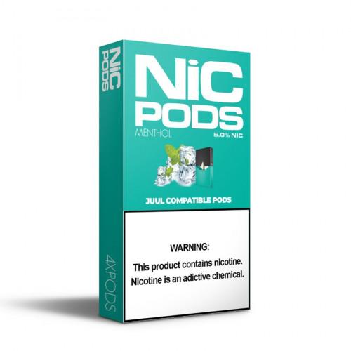 Картриджи- Nic Pods - Menthol 5%