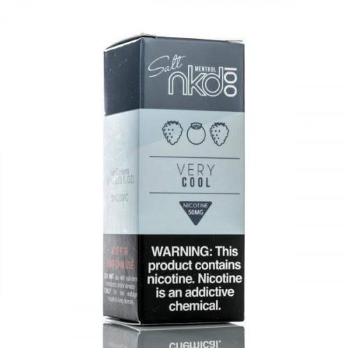 Жидкость на солевом никотине Naked 100 Salt - Very Cool 30 мл.