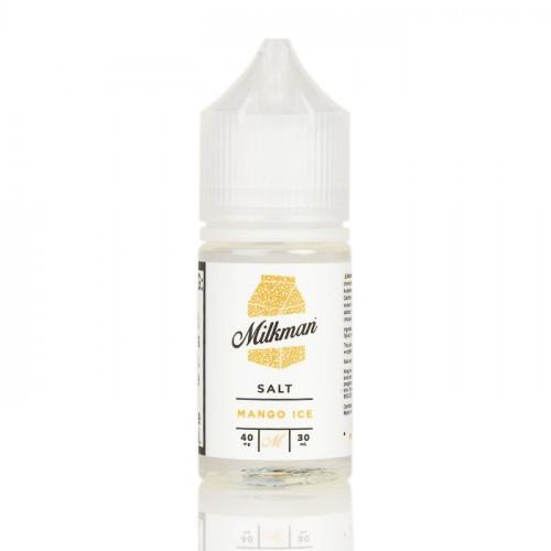 Жидкость на солевом никотине The Milkman Salt - Mango Ice 30 мл.