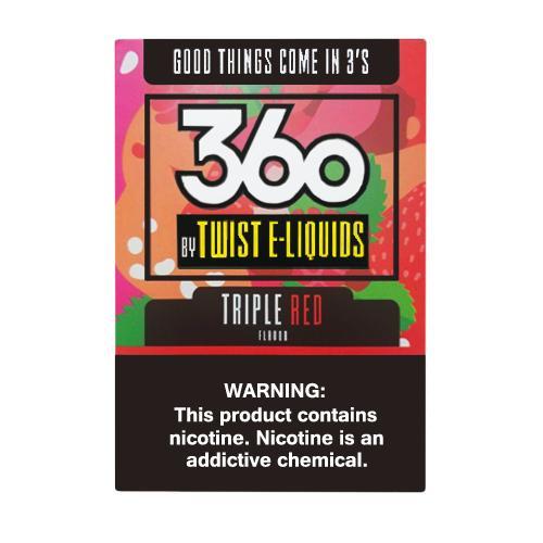 Премиум жидкость 360 Twist E-Liquids - Triple Red 60 мл.