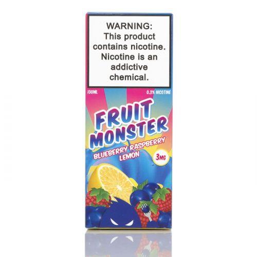 Премиум жидкость Fruit Monster - Blueberry Raspberry Lemon 100 мл.